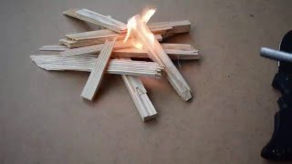 How to start fire with a ferro rod. How to use a ferrocerium rod.
