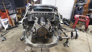 Mounting the Engine in my Off-Road Lamborghini Huracan
