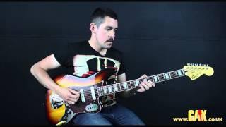 Squier Vintage Modified Bass VI - Demo at GAK