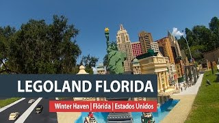 Diversão para crianças no Legoland Florida