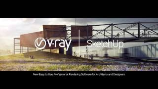 V-Ray 3 for SketchUp – Webinar