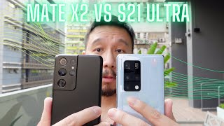 Camera Test: Huawei Mate X2 vs Galaxy S21 Ultra: The Two Best
