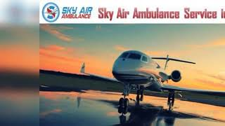 Pick Air Ambulance in Jamshedpur with Medical Professional