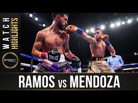Хесус Рамос –  Брайан Мендоса / Jesus Ramos. vs Brian Mendoza