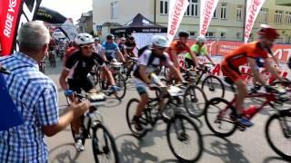 Cyklokarpaty Dukla 2014 - start zawodników