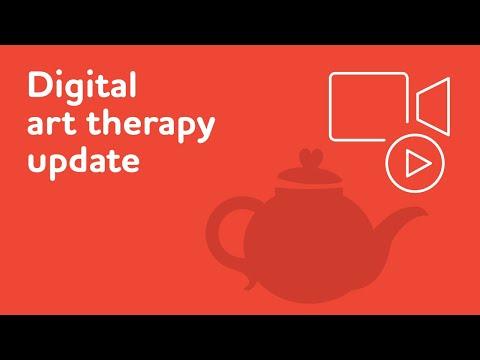 Digital Art Therapy Update