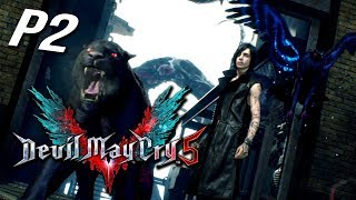 Devil May Cry 5《 惡魔獵人5》Part 2 - 試試看新人物V