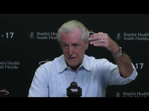 Miami Heat - Pat Riley - 2016-17 end of season press conference (Part 3 of 4)
