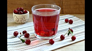 Мятно-вишневый морс: рецепты от Алейки