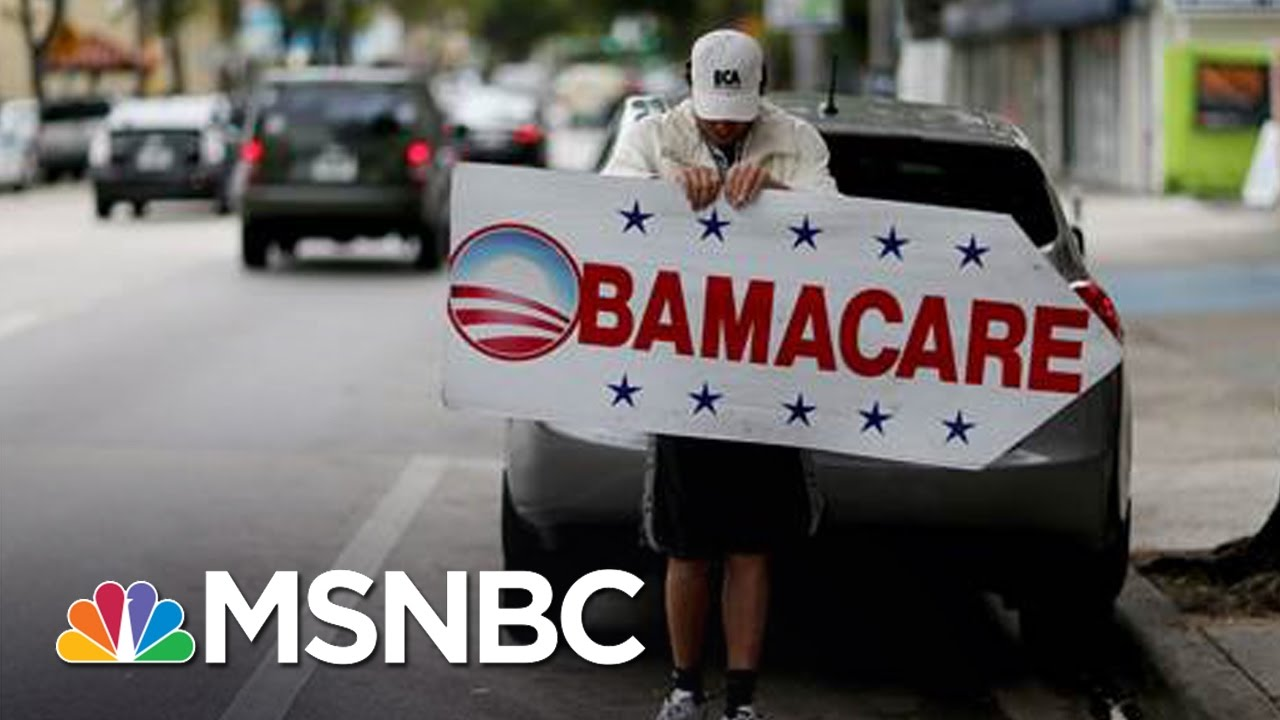 Repealing Obamacare 'High On Agenda' For GOP | MSNBC thumbnail