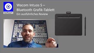 DAS Grafiktablett ideal für Homeoffice und Teams Meetings - Wacom Intuos CTL-4100WL Bluetooth