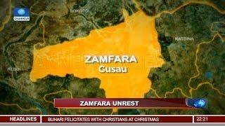 Buhari Condemns Zamfara Killing, Assures Residents Of Increased Security 24/12/18 Pt.1 |News@10|