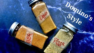 3 Amazing Spice Blends | Spice Rub |  Homemade Seasoning Blends #dominos Style Seasoning