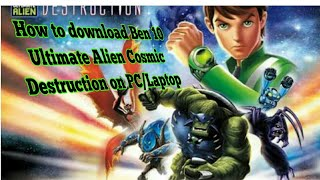 ben 10 ultimate alien cosmic destruction ppsspp file download
