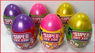 Đồ chơi trẻ em, bóc trứng bất ngờ khổng lồ surprise, bên trong có gì??? Surprise eggs (Chim Xinh)