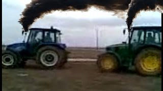 compact konya altinekin oguzeli john dere vs newholland tractor videos