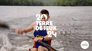 Le lac des Vieilles-Forges, centre de préparation aux Jeux de Paris 2024