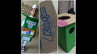1st Prize Winning Fancydress Compitition Idea With Preparation