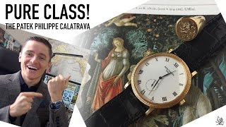 The Iconic Patek Philippe Calatrava  - A Perfect Gentleman's Dress Watch -  Review Of Ref. 3919