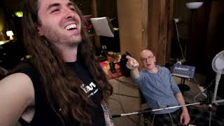 Recording Drums With Devin Townsend!!