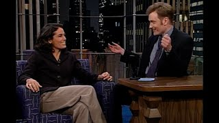 Julie Foudy's Strange Soccer Superstition   Late Night With Conan O'Brien