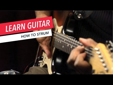 Beginner Guitar Lessons: How to Strum | Guitar | Lesson | Beginner