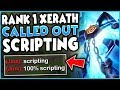 1 XERATH WORLD REPORTED FOR SCRIPTING IN RANKED SEASON 9 XERATH MID GAMEPLAY League of Legends