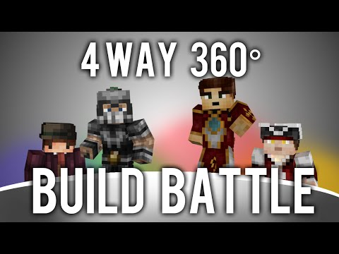 4 way, 360° Degree, Minecraft Build Battle [With Download