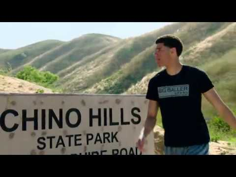 Check out Lonzo Ball on a run in Chino Hills