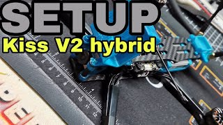 Kiss V2 hybrid Build setup / DJI HD FPV / VISTA