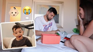 TELLING MY FIANCE AND SON I'M PREGNANT  *emotional*