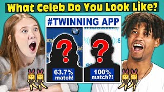 Teens Try To Find Their Celebrity Twin! (#TWINNING APP)