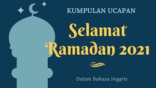 20 Ucapan Selamat Puasa Ramadan 2021 dalam Bahasa Inggris: Bisa Share IG, FB, Twitter hingga TikTok