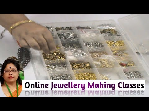 Online Jewellery Making Classes Part - 8 / Debjani Creations Tutorial