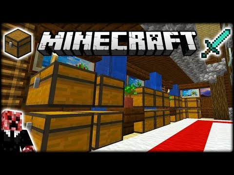 I MADE A BEAUTIFUL MINECRAFT STORAGE ROOM!   Let's Play Minecraft Survival   Episode 16