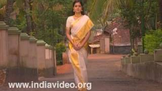 Set mundu with kasavu, a conventional women's wear