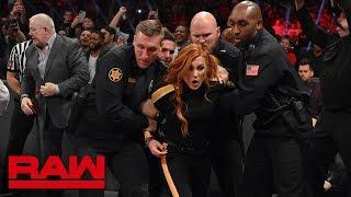 Becky Lynch gets arrested: Raw, Feb. 25, 2019