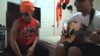 Batang Bata Ka Pa - Apo Hiking Society (Acoustic Cover by: Ron & Marlon)