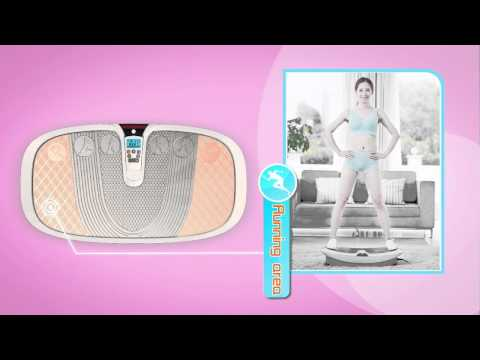 Wireless Watch Vibraslim Body Shaper Massager