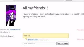 How to quit a roblox club :3