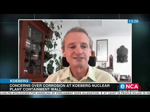 Concerns over corrosion at Koeberg Nuclear Plant Containment Wall