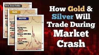 How Gold & Silver Will Trade During A Market Crash