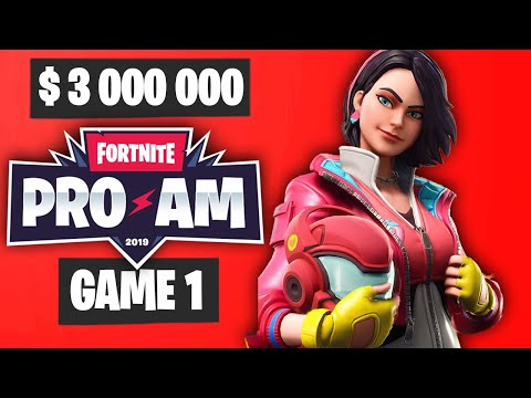 Fortnite PRO AM Game 1 Highlights - Summer Block Party Highlights