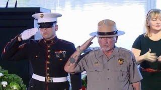 Pearl Harbor Remembrance Ceremony. Dec. 7. 2016.  75th anniversary of Pearl Harbor.