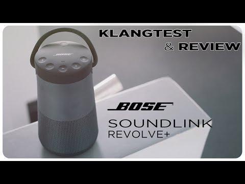 Bose Soundlink Revolve+ Plus / Klangtest - Review - Vergleich [ deutsch ]