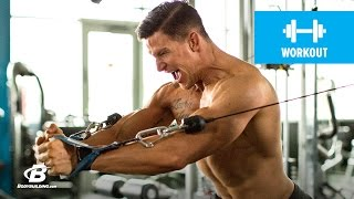 Rapid-Fire Workout | Steve Weatherford by Bodybuilding.com