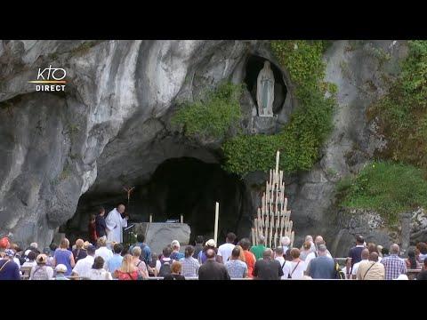 Chapelet du 29 juillet 2020 à Lourdes