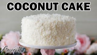 How To Make Coconut Cake | SImple Coconut Cake Recipe