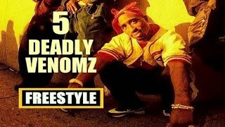 2Pac - 5 Deadly Venomz (Freestyle) [VOSTFR]