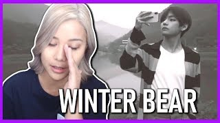 WINTER BEAR BY V REACTION | #WinterBear (BTS 방탄소년단)